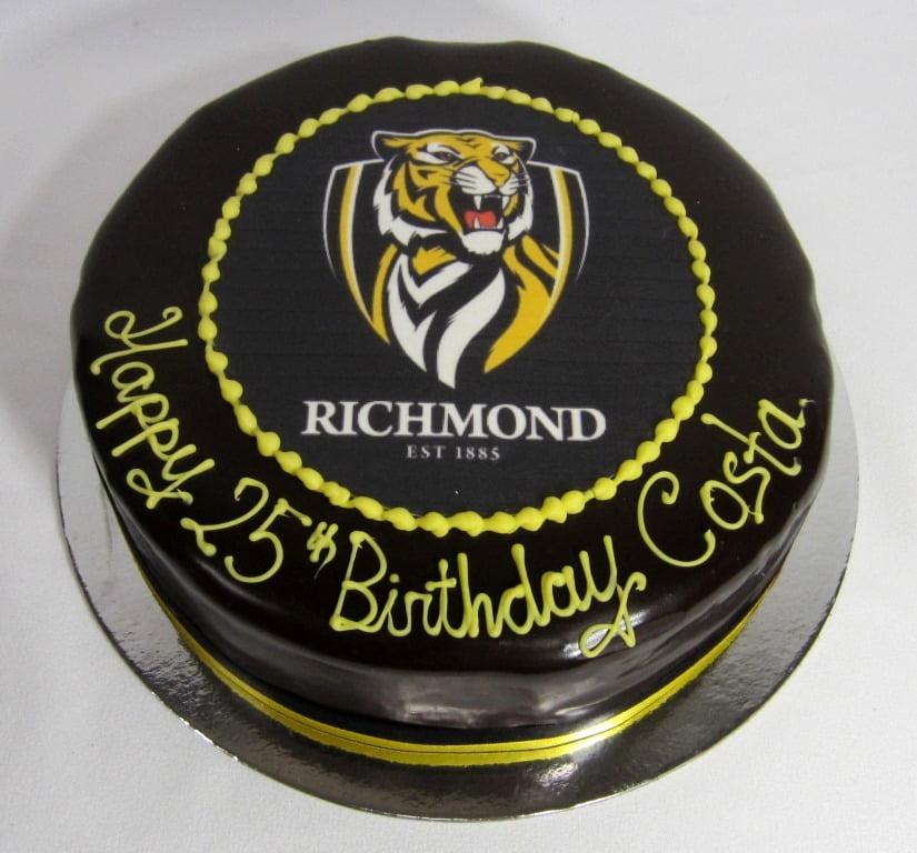 Richmond Fc Nikos Cakes