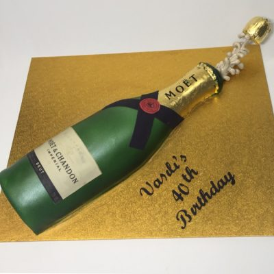 Popping Bottles Nikos Cakes