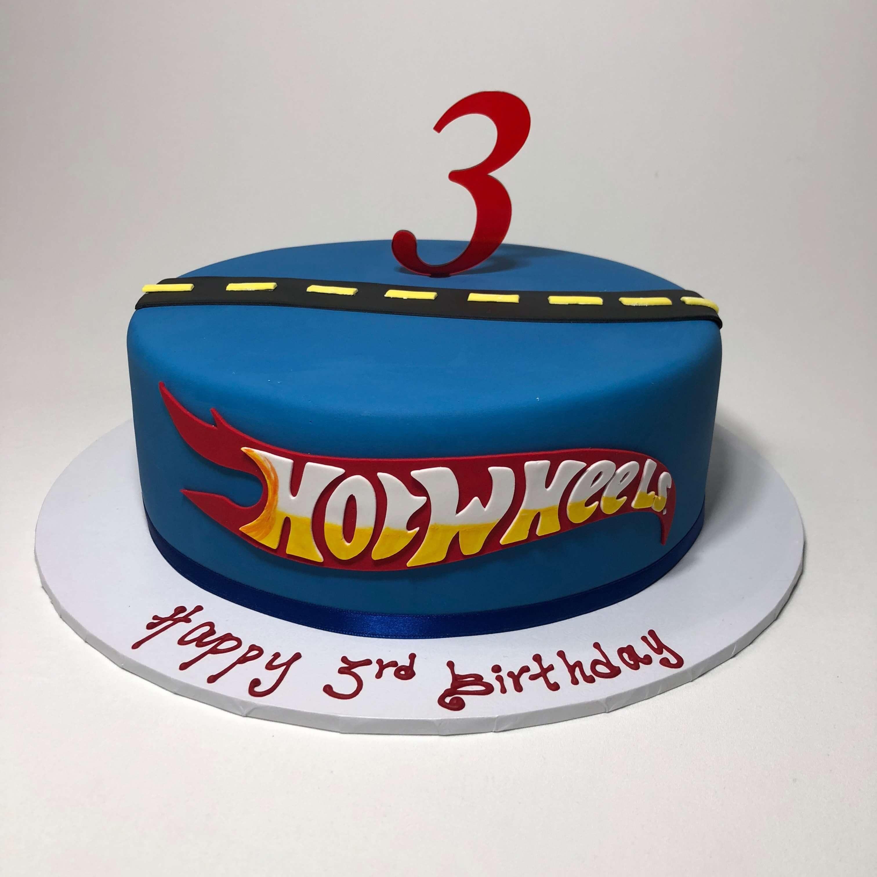 Terrific Hot Wheels Nikos Cakes Funny Birthday Cards Online Elaedamsfinfo