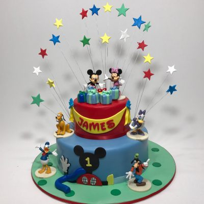 Admirable Mickey Minnie Mouse Archives Nikos Cakes Funny Birthday Cards Online Alyptdamsfinfo