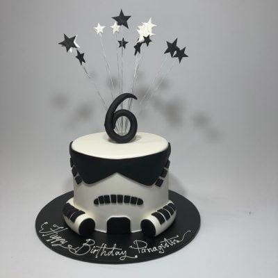 Marvelous Star Wars Storm Trooper Nikos Cakes Personalised Birthday Cards Vishlily Jamesorg