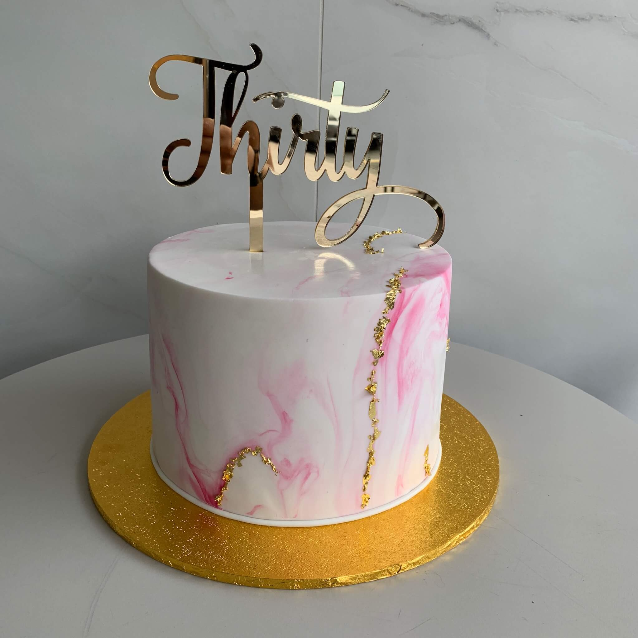 Awesome Marble Thirty Nikos Cakes Funny Birthday Cards Online Fluifree Goldxyz