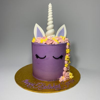 Buttercream Unicorn Dark Purple