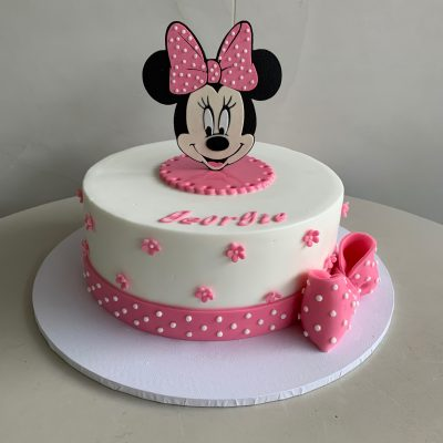 Pleasant Mickey Minnie Mouse Archives Nikos Cakes Personalised Birthday Cards Epsylily Jamesorg