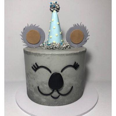 Fabulous Koala Party Nikos Cakes Funny Birthday Cards Online Hetedamsfinfo