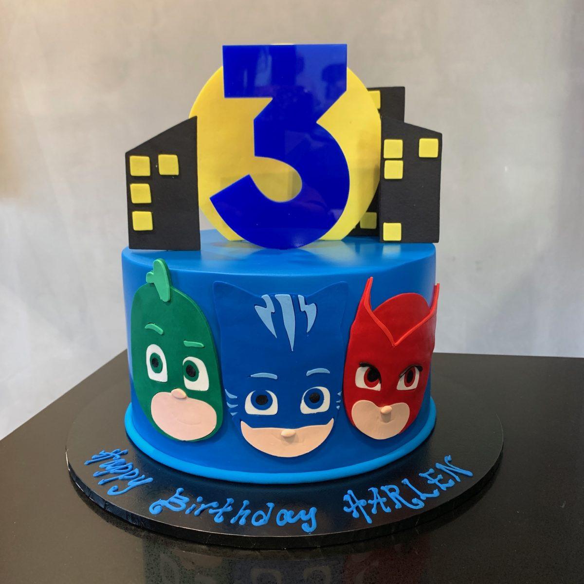 pj masks save the city  nikos cakes