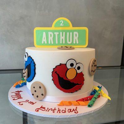 Fine Sesame Street 2 Nikos Cakes Funny Birthday Cards Online Necthendildamsfinfo