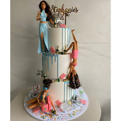Sensational Barbie Cake Archives Nikos Cakes Funny Birthday Cards Online Bapapcheapnameinfo